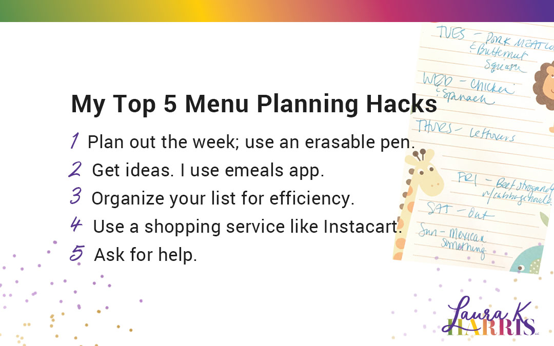 Menu Planning CAN be Easy!